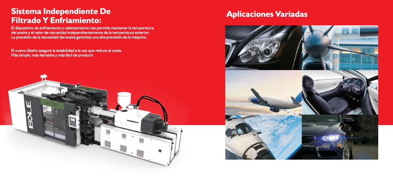 Máquina de moldeo, serie DK, para el sector de la automocion