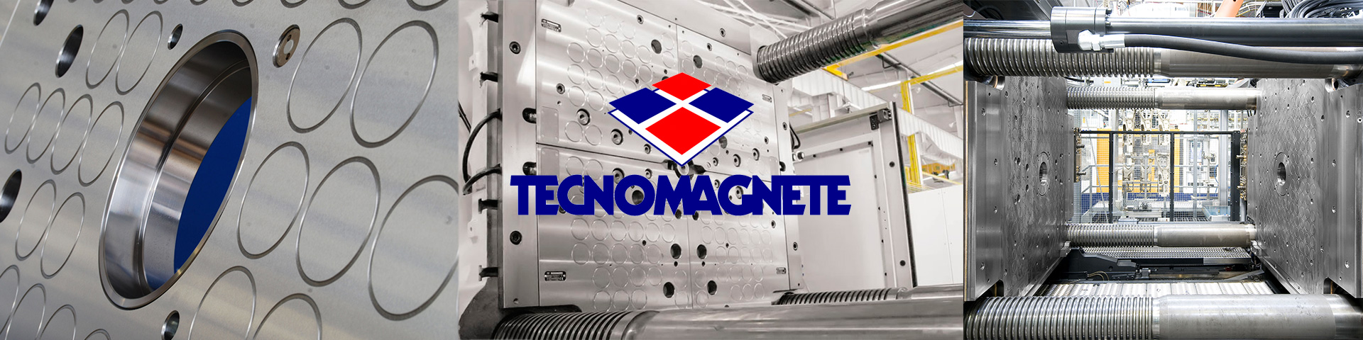 TECNOMAGNETE para autoamarre de moldes y matrices
